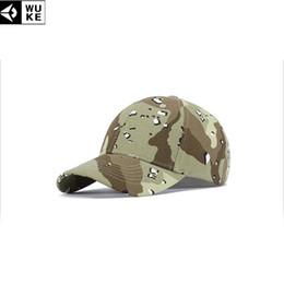 8c925f868ca WUKE New Dad Hats Camouflage Baseball Caps For Men Women Snapback Hats Hip-pop  Hat Adjustable 54-60cm Sports Bone Cap