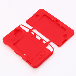 Discount 3ds covers - New Allows access to all ports, buttons, and function Silicone Gel Rubber Protective Shell Case Cover Skin for Nintendo
