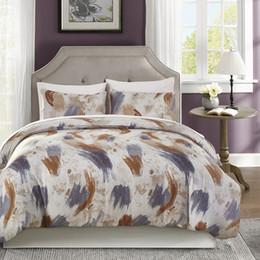 $enCountryForm.capitalKeyWord Canada - USA UK Cartoon Bedding Sets Soft Kids Duvet Cover Set Quilt cover Bed Set Single King Queen Double Bedclothes Watercolour Print