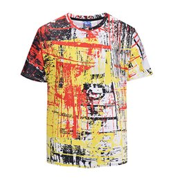 9623fe3d4e225 2018 Cool summer Fashion Trend style Short sleeve T-shirts funny 3d digital printing  Men Women casual t shirt couples Tees