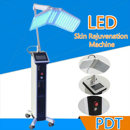 bio light therapy 2019 - Hot High power Floor Standing Professional led pdt bio-light therapy machine Red light +Blue light + Infrared light ther