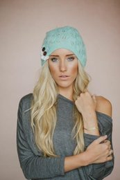 $enCountryForm.capitalKeyWord UK - Europe and the United States new knitted hat lace wool leaves button head cap set warm Ms. Bailey