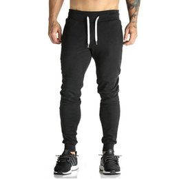 Chinese  2018 High Quality Joggers Pants Men Bodybuilding Gyms Sweatpants For Runners Brand Mens Clothing Autumn Sweat Trousers Britches manufacturers