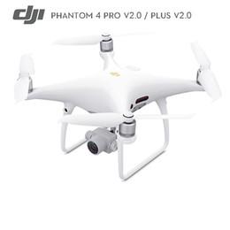 Em estoque DJI Fantasma 4 Pro V2.0 Plus V2.0 Zangão com 4 K HD 60fps Câmera 1 polegada 20MP Exmor R sensor CMOS versão DA UE em Promoção