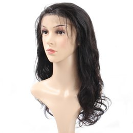 China Cheap 8A Popular Big Brazilian Body Wave Lace Frontal Wigs Medium Size For African Americans Woman 10-30Inch Wholesale Price Free Shipping supplier hairstyles for african hair suppliers