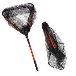 $enCountryForm.capitalKeyWord Australia - Accessories Fishing Telescoping Fishing Pesca Foldable Landing Pole Brail Landing Net Nylon Fish Net Aluminum Alloy Frame Carp