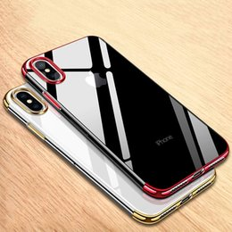 blue clear iphone cases NZ - For iPhone 11 pro xs max xr X 8 7 6s plus Case TPU clear Silicone Cover Original Luxury Silm Protection Phone Soft Shell For iphoneX