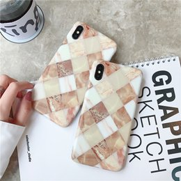 Discount thick soft case - iPhone XS Max Marble Phone Case Thick Quality TPU Soft phone Cases for Iphone X XR 6 7 8 Plus