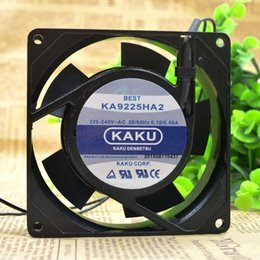 $enCountryForm.capitalKeyWord Australia - Free Shipping Brand KAKU NEW Original KA9225HA2 S 92*92*25MM AC 220 240V 50 60Hz 0.10 0.09A Axial Case Cooling Cooler Fan