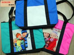 $enCountryForm.capitalKeyWord NZ - Fashion DIY Sublimation Blank Baby bag For Heat Transfer printing mommy bag materials