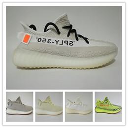 frozen low shoes 2019 - Beluga 2.0 Sply 350 V2 Running Shoes Breds Semi Frozen Yellow Tint Zebra Copper Olive Green Cream White Kanye West Sneak