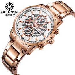 blue pointers 2019 - Ochstin brand new fashion men's watch luminous pointer multi function leisure business waterproof watch manufacture
