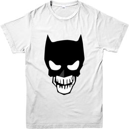 China Suicide Squad T-Shirt batmen Skull Spoof T-Shirt, Inspired Design Top cheap spoof shirts suppliers