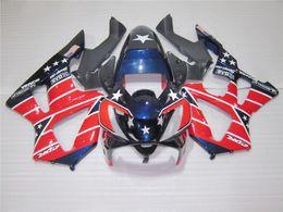 Honda Cbr929 Australia - Hot sale fairings for Honda CBR900RR CBR929 2000 2001 blue black red fairing kit CBR929RR00 01 QG57