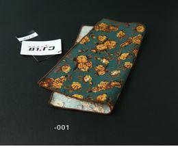 Scarf Square Cotton Australia - Fancy Men's cravat scarf Handkerchiefs Cotton Pocket Square Hankies Men Business Square Pockets Hanky Handkerchief Fashion Ties Accessories