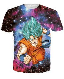 6ad88477e12 2018 Newest Dragon Ball Z Goku T Shirts 3D Print Cartoon Character T-shirt  Fashion Men Women Clothing Hip Hop Tops Tees comfortable style
