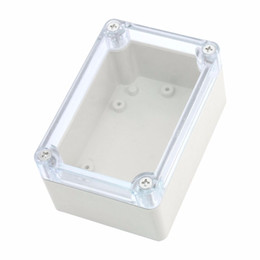 plastic mounts UK - IMC Wholesale Screw Mounted Clear Cover Waterproof Sealed Junction Box 100x68x50mm