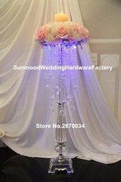 silver floor lamps Australia - Latest arrival custom design crystal floor standing lamps for event decor
