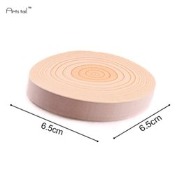 wholesale memo pads UK - 5 Sets Wooden Color Memo Pad Diy Note Kawaii School Home Office Supplies Schedule Notepad Cute 100 pcs Sticky Notes