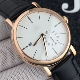 8dc66746b074 Rose gold LEATHER BELT DATE 39 MM CASE automatic mechanical luxury AAA  sport wholesale men watch brand new Stainless steel Mens watches
