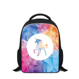 New Year Gift Kids School Bags Cute Unicorn Printing Cartoon Backpack To  School 12 Inch Kindergarten Shoulder Bags Good Quality Rugtas Pack 0927a04870338