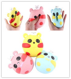 small fidget toys UK - Squishy Toys PU Fidget Small Rabbit Pig Style Slow Rising Toy Decompression Toys 9pcs= 1lot MCT 013