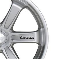 car wheels for skoda 2019 - For 6x Car Alloy Wheel Sticker fits Skoda Octavia Fabia Bodywear Decal Adhesive PT87 cheap car wheels for skoda