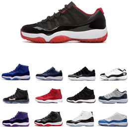 46160e71c41c97 ... Drop Ship Wholesale 11 Gym Red 11s Heiress Black Stingray OVO Midnight  Navy Bred Shoes 11s ...