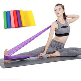 Traditional & Cultural Wear Sports Elastic Resistance Bands Yoga Equipment Stretch Chest Gum Espanto Body Fitness Band Cotton Latex Exercise Bands Be Novel In Design