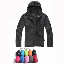 Chinese  2017 New Mens Women Casual Jackets Windproof Ultra-light Jacket Men Army Windbreaker Quick Dry Skin Coat manufacturers