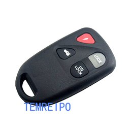 Chinese  3+1 button keys for mazda 3 5 6 remote control key case car key for mazda 2 key covers manufacturers