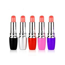 Discreet Vibrating Lipstick NZ - Lipstick Vibe,Discreet Mini Bullet Vibrator,Vibrating Lipsticks,Lipstick Jump Eggs,Sex Toys,Sex Products for women