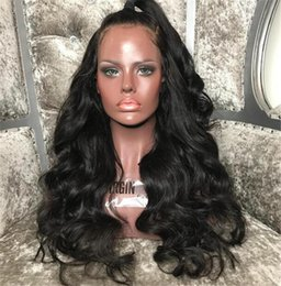 $enCountryForm.capitalKeyWord Australia - Silk Top Full Lace Wigs Human Hair Lace Front Wig With Baby Hair Unprocessed Brazilian 4.5*5 Silk Base Lace Wigs Black Women