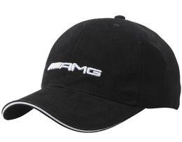 black baseball caps 2019 - Mens Womens AMG Baseball Cap embroidery Adjustable 100% Cotton Unisex Couple Snapback Cap Fashion Hats discount black ba