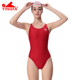 453b82a2c3 Yingfa Swimwear Canada - Yingfa professional training swimsuits waterproof  chlorine resistant women's swimwear plus size bathing