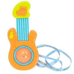 China Touch Induction Lighting Music Electric Toy Mini Electric Kid Guitar Early Childhood Baby Toys Plastic 4 3hy X supplier x guitars suppliers