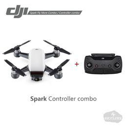 video camera controller 2019 - DJI Spark Controller Combo   Fly More Combo Drone 1080P HD Video Recording 12MP Camera Drones Remote or Phone APP Contro
