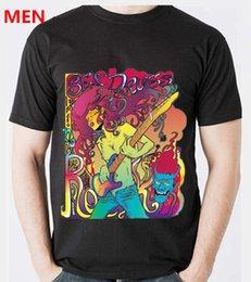Venta al por mayor de 2018 envío gratis camiseta de los hombres, verano moda popular DIY sexy rock niña estilos de imagen Hip-hop O-cuello de manga corta camiseta hombres