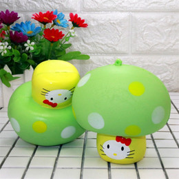 Kitty charms online shopping - Simulation Squishy Mushroom New Product Aroma Slow Rebound Squeeze Lovely Kitty Bread Phone Charm Squishies Ornament xr W