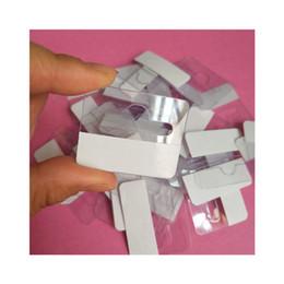 Trouser belT clips online shopping - Pvc Plastic Display Hook Self Viscose Transparent Removable Holder Exhibition Eco Friendly Portable Flexible Square Hanger ks jj