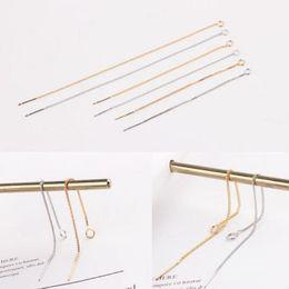 Diy copper earrings online shopping - designer earrings accessories ear line DIY earings fine chain simple classic hot fashion free of shipping