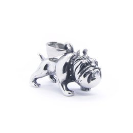 men bull pendant 2019 - 2018 Mini Bull Dog Pendant 316 Stainless Steel Fashion Soild Cool Bull Dog Pendant discount men bull pendant