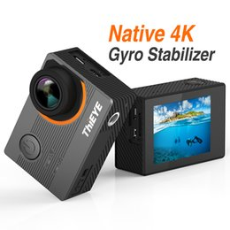 Discount waterproof action camera wifi wholesale E7 Action Camera Native 4k 30fps Ultra-HD 2.0 Inch WIFI 170 FOV Waterproof Diving Camara Deportiva Voice Contr