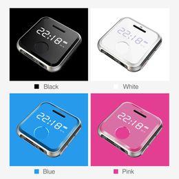 $enCountryForm.capitalKeyWord NZ - MP3 Player MP 3 mini HiFi Music Player Kids Sport WAV Voice Recorder FM Radio 8G 0.91 inches MP3 Bracelet Can Play 30 Hours