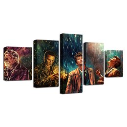 $enCountryForm.capitalKeyWord NZ - Doctor Who ,Movie Characters,5 Piece Home Decor HD Printed Modern Art Painting on Canvas (Unframed Framed)
