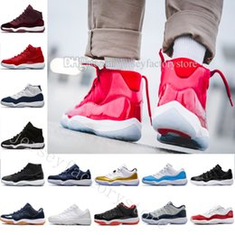 Wholesale High Quality New XI Space Jam s Black Sneakers Cheap Basketball Shoes Men Women With Number quot quot Low Infrared Closing Ceremony