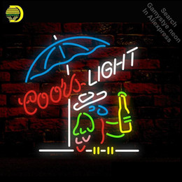 Chinese  COORS LIGHT PARROT Neon Sign Neon light Tube Bulb Display Handcraft anuncio luminoso Iconic Sign Glass manufacturers