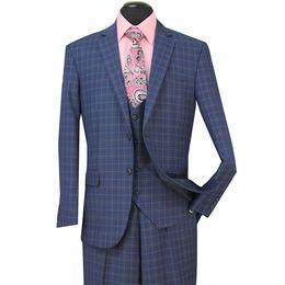 China STOCK IN USA 2018 Tuxedos Suits Men Wedding Suit Slim Fit Business Groom Suit Set Dress Suits Tuxedo For Men (Jacket+Pants+Vest) ST005 cheap button back wedding dresses suppliers