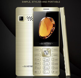 straight phones NZ - New elderly mobile phone student spare mobile phone, long standby 2.6 inch old man big character vibration straight phone