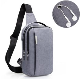 47561fa51f5 Outdoor Leisure Chest Bag Crossbody Pack for Men Waterproof Single Shoulder  Strap Pack Sport Gym Male Anti Theft Messenger bags
